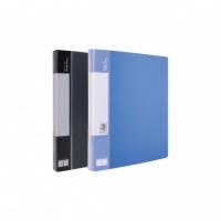 得力5038,40页侧入式资料册(1/12/48)A4/A3通用 A3资料册 A3文件册
